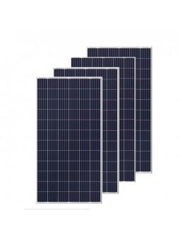 4 paneles FV 260 wp