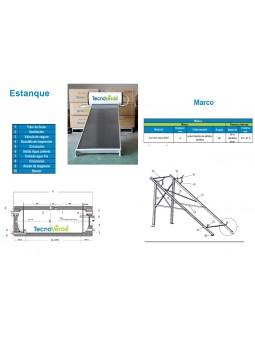 Imagén: Kit 1 Calentador Solar Térmico PP150HP